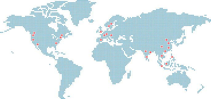 OnePlus Offices in the Map